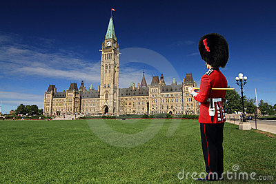 Giuard at Parliament Hill