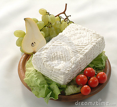 Free Giuncata -Italian Cow Milk Cheese Junket Royalty Free Stock Image - 3688746