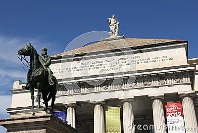 Giuseppe Garibaldi Editorial Photography