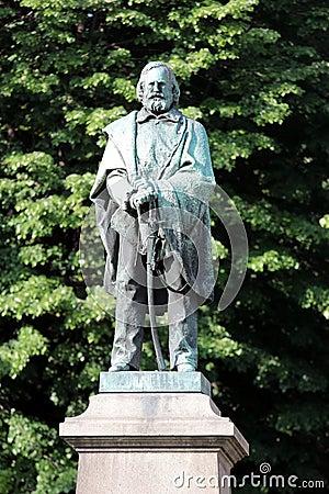 Giuseppe Garibaldi Statue Editorial Photography