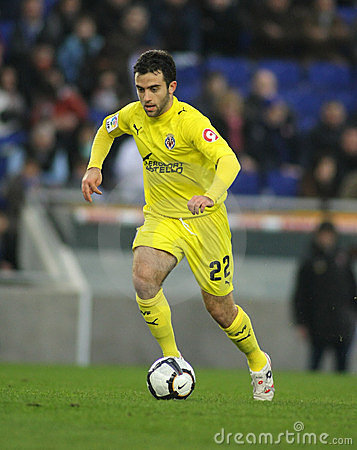 Giuseppe Rossi of Villareal Editorial Stock Image