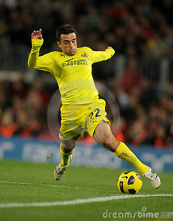 Giuseppe Rossi of Villarreal CF Editorial Image