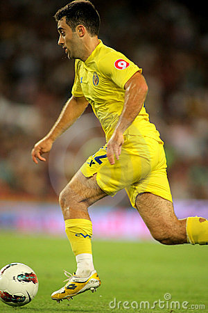 Giuseppe Rossi of Villarreal CF Editorial Stock Image