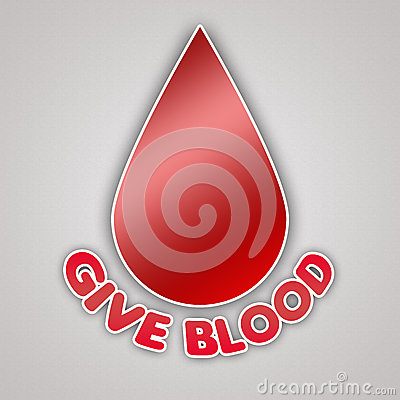 Give Blood Emblem Campaign
