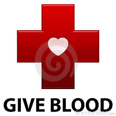 Give Blood Red Cross Editorial Stock Photo