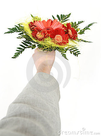 Give flowers