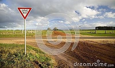 Give Way / Yield