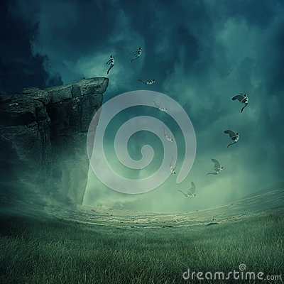 Free Give Your Dreams Their Wings To Fly Royalty Free Stock Images - 89310499