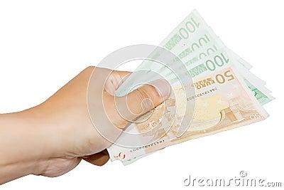 Giving 450 Euros