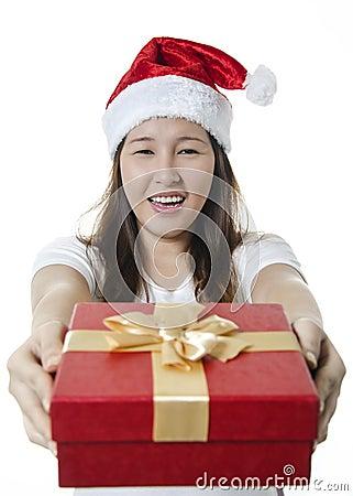 Giving gift box