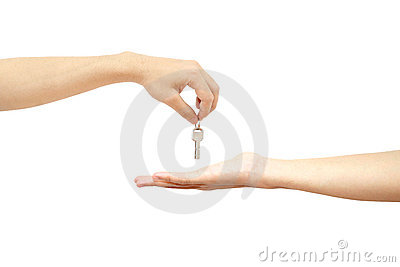 Giving key