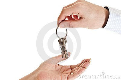 Giving keys