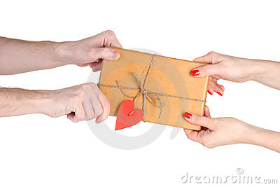Giving parcel