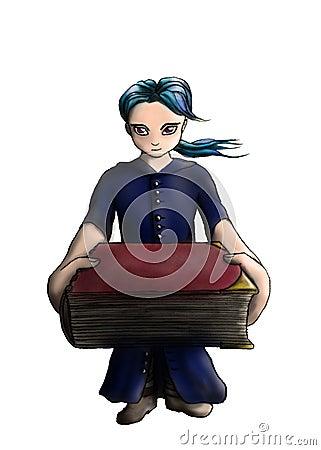 Giving you a magic book 1