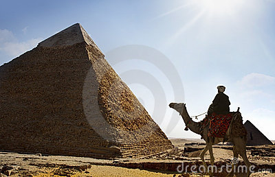 Giza pyramids, cairo, egypt