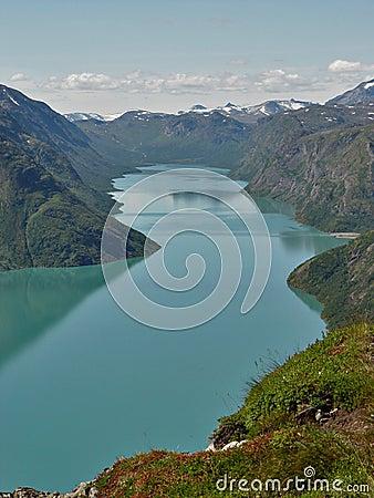 Free Gjende Lake Royalty Free Stock Images - 485419