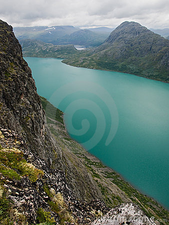 Free Gjende Lake, Jotunheimen NP, Norway Stock Photos - 19085623