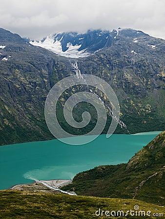 Gjende lake scenics, Norway