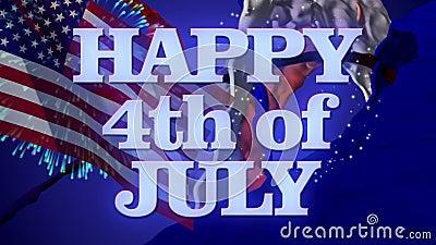 Glücklich Juli 4