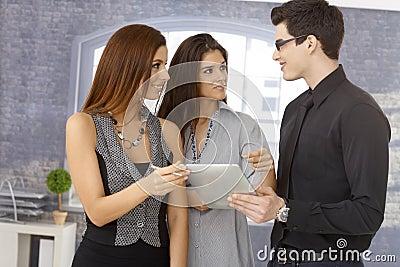 Glückliches businessteam