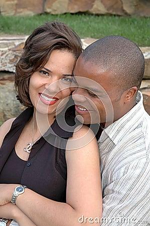 Glückliches verheiratetes Paar