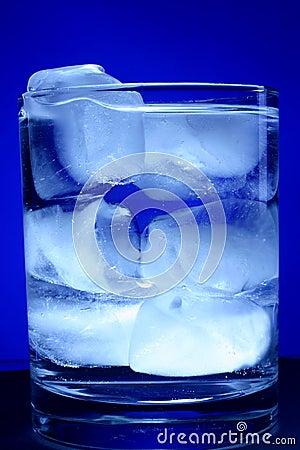 Glace de l eau