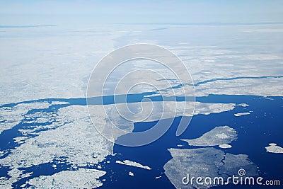 Glace de mer arctique