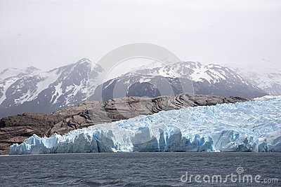 Glacial Ice Field And Lake  Free Public Domain Cc0 Image