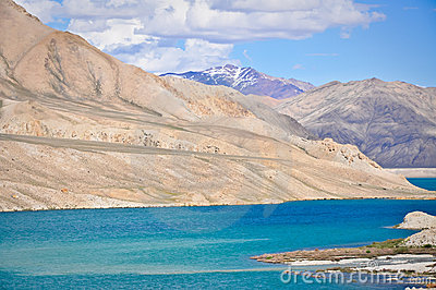 Glacial Waters of Bulunkul Lake, Tajikistan
