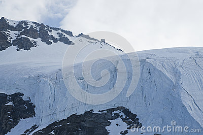 Glacier in Alps