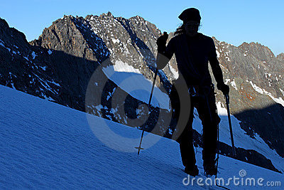 Glacier ascent