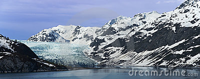 Glacier Bay National Park Panorama Alaska