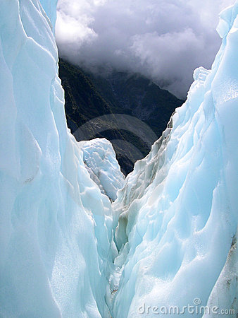 Free Glacier Crevasse Royalty Free Stock Photography - 7085217