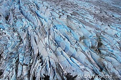 Glacier flow