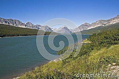 Glacier National Park in Montana.