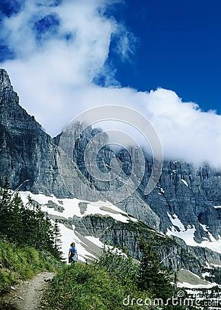 Glacier Park Hiker