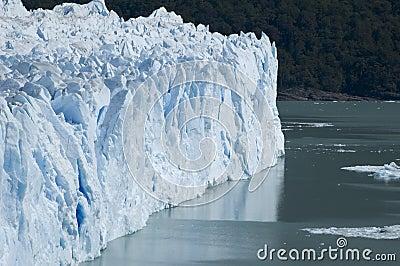 The Glacier Perito Moreno in Patagonia, Province o