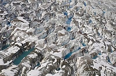 Glacier at St Elias Range