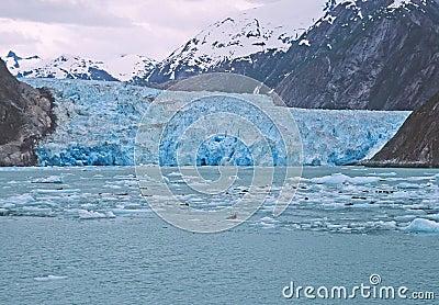 Glacier in SW Alaska