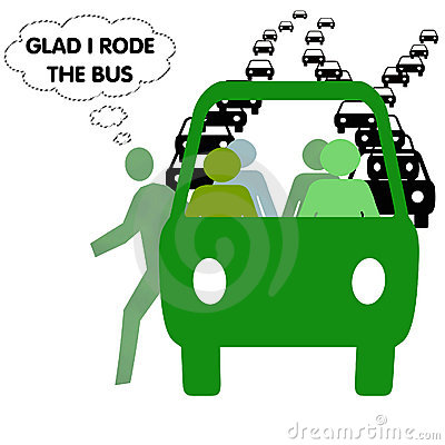 Glad to ride the bus