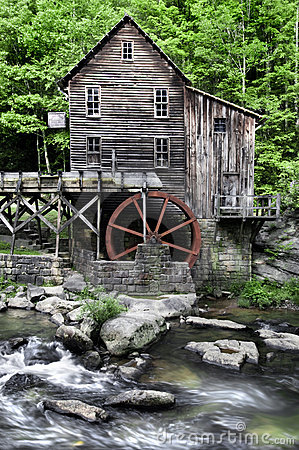 Free Glade Creek Grist Mill Stock Photos - 14674803