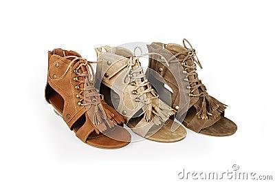 Gladiator sandals shoes
