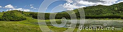 Glamoc lake Hrast Stock Photo