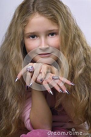 Glamor girl