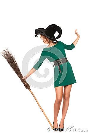 Glamorous broom