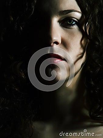 Free Glamorous Lady Stock Image - 5009381