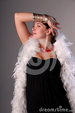 Glamorous woman.