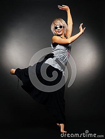 Glamour ballet dancer