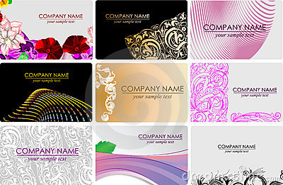 Glamour Fashion Busines Cards