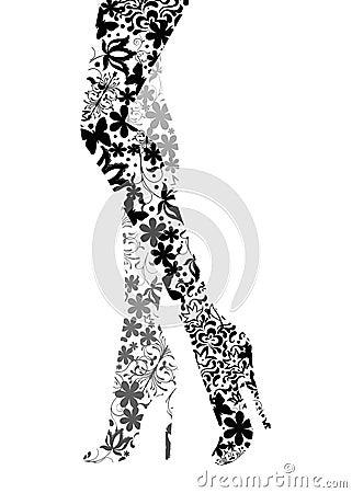 Glamour Fashion legs